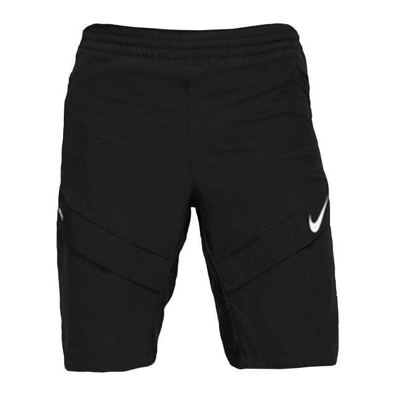 Nike F.C. Elite M18 Woven Short Schwarz F010 - schwarz