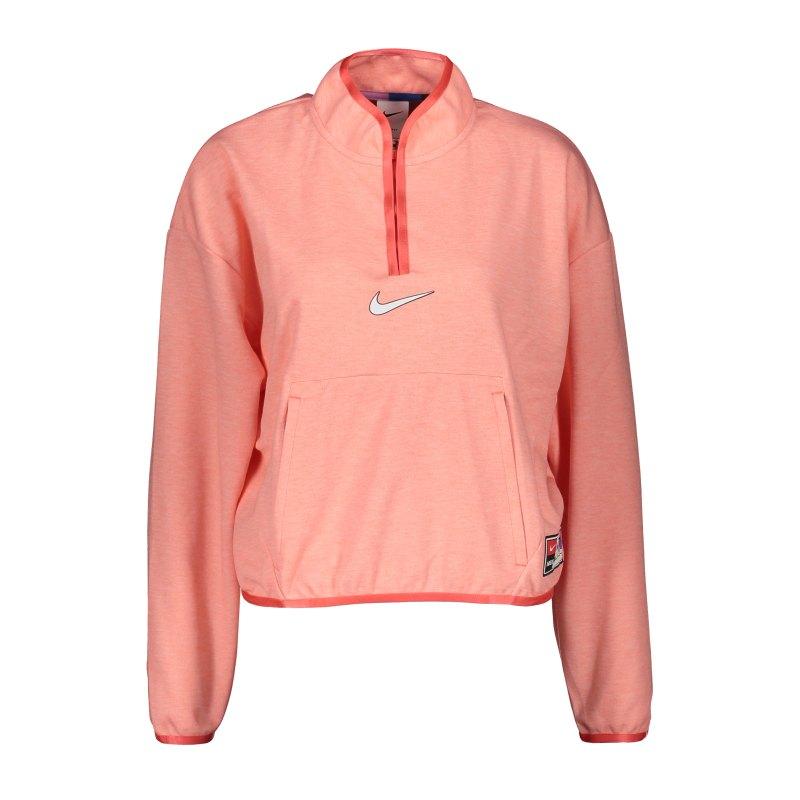 Nike F.C. Midlayer Jacke Damen Orange F858 - orange
