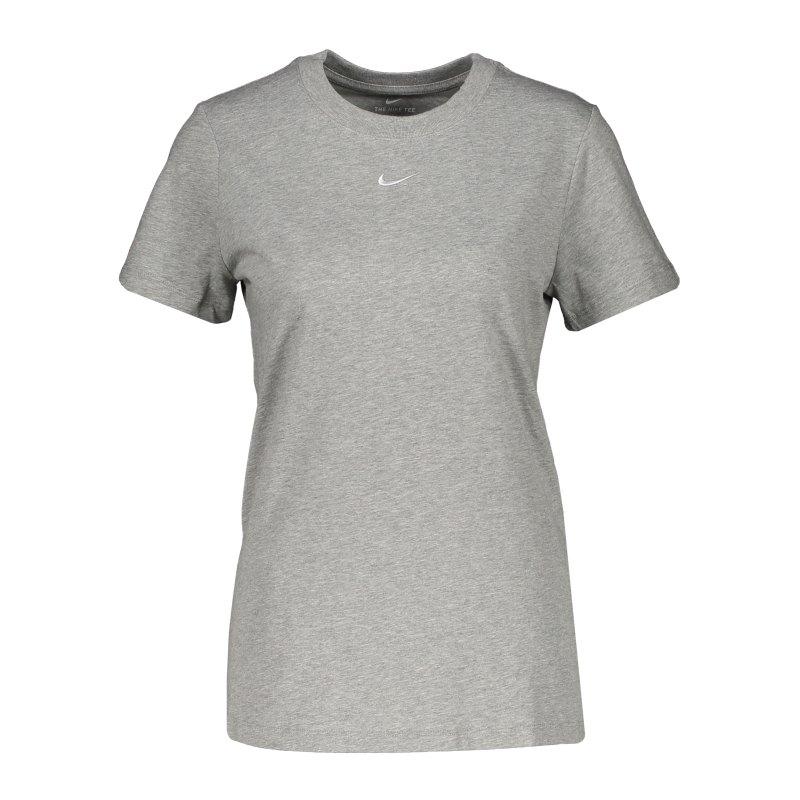 Nike Essentials T-Shirt Damen Grau F063 - grau