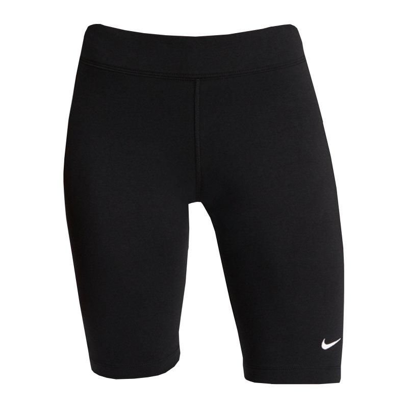 Nike Essentials Bike Short Damen Schwarz F010 - schwarz