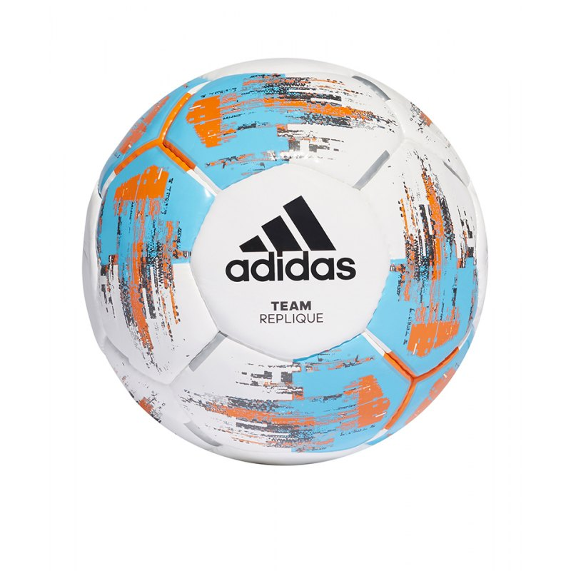 adidas Team Replique Trainingsball Weiss - weiss