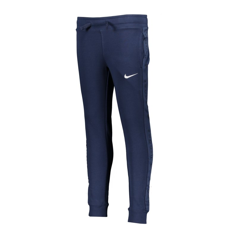 Nike Swoosh Jogginghose Kids Blau F410 - blau