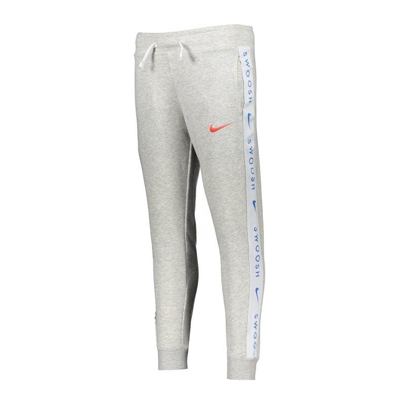 Nike Swoosh Jogginghose Kids Grau F050 - grau