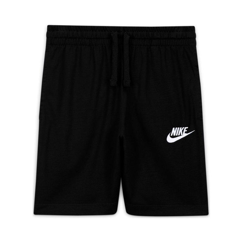 Nike Jersey AA Short Kids Schwarz F010 - schwarz