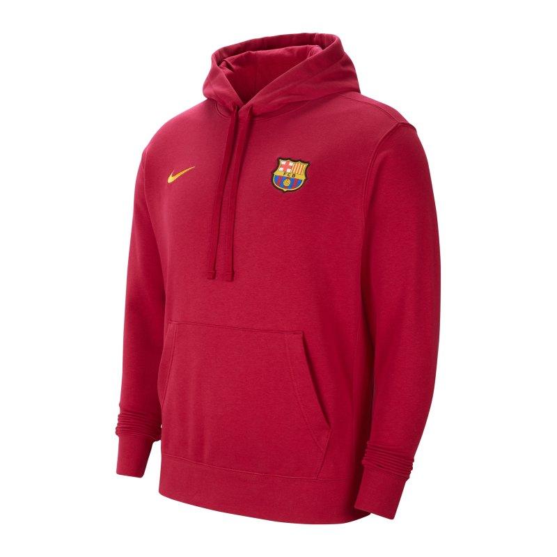 Nike FC Barcelona Fleece Hoody F620 - rot