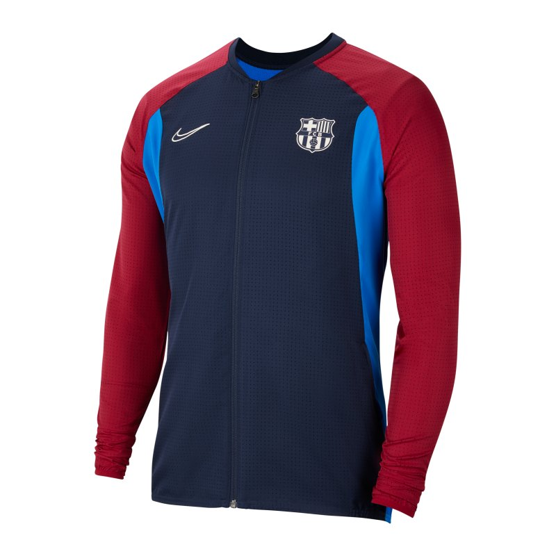 Nike FC Barcelona Academy Jacke F451 - blau