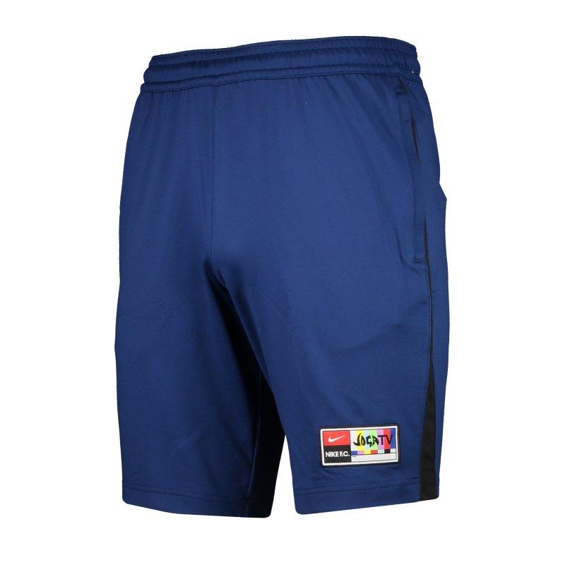 Nike F.C. Joga Bonito Short Blau F492 - blau