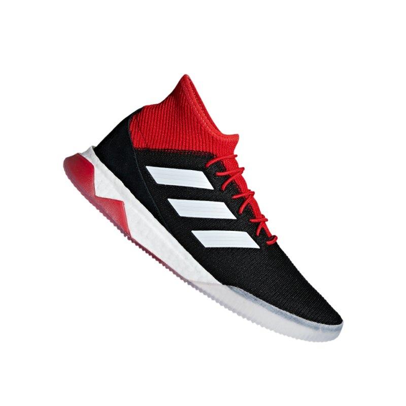 adidas Predator Tango 18.1 TR Schwarz Rot - schwarz