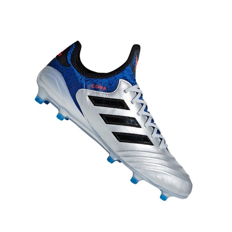 adidas COPA 18.1 FG Silber Blau - silber