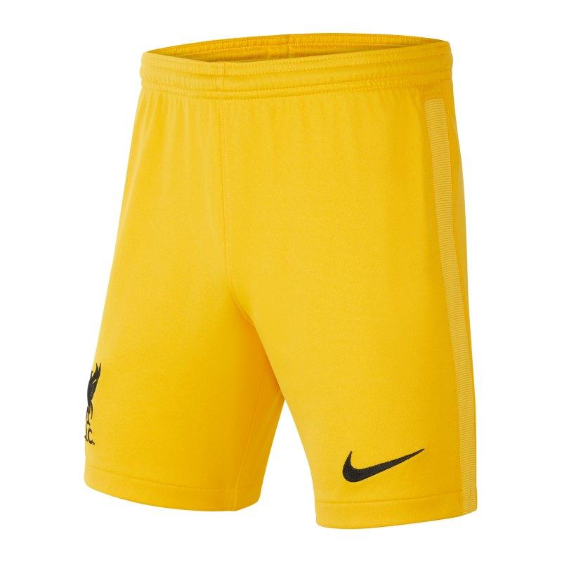 Nike FC Liverpool Torwartshort 2021/2022 F739 - gelb
