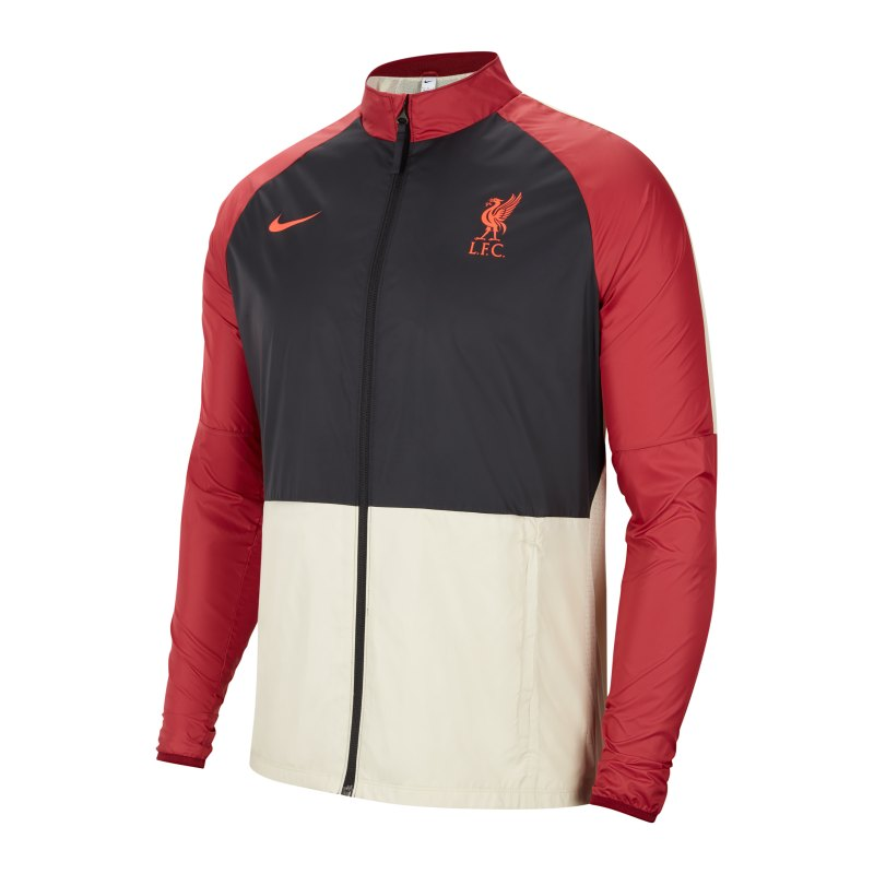 Nike FC Liverpool Trainingsjacke Damen Rot F677 - rot