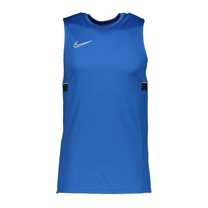 Nike Academy 21 Tanktop Blau F463 - blau