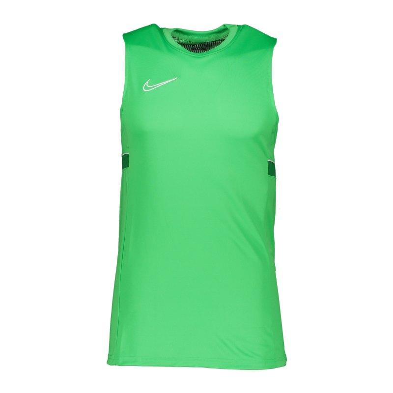 Nike Academy 21 Tanktop Kids Grün Weiss F362 - gruen