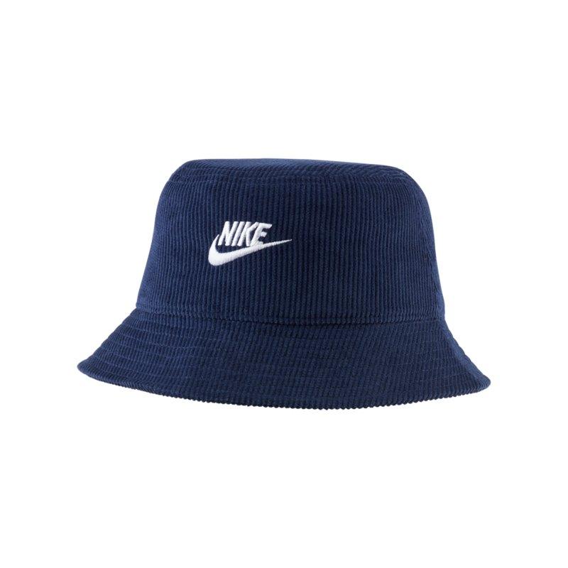 Nike Futura Corduroy Hut Blau Weiss F410 - blau