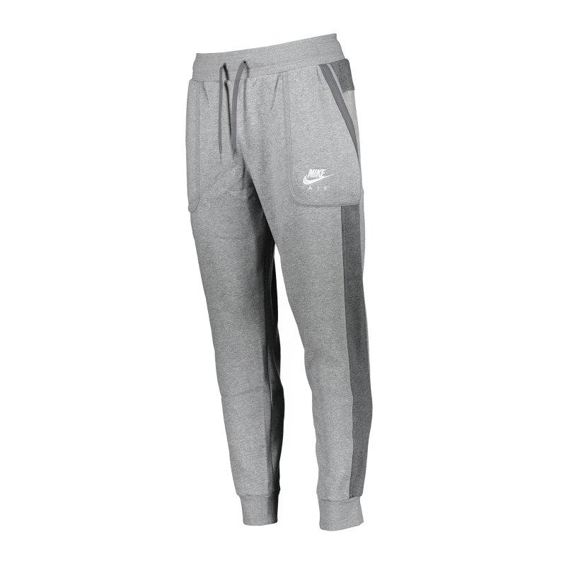 Nike Air Fleece Jogginghose Grau F050 - grau