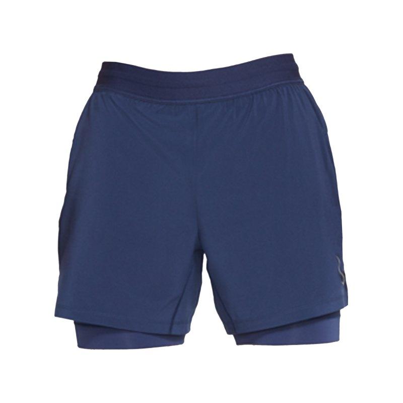 Nike Yoga 2-1 Short Training Blau F410 - blau