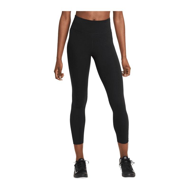 Nike One 7/8 Leggings Training Damen Schwarz F010 - schwarz