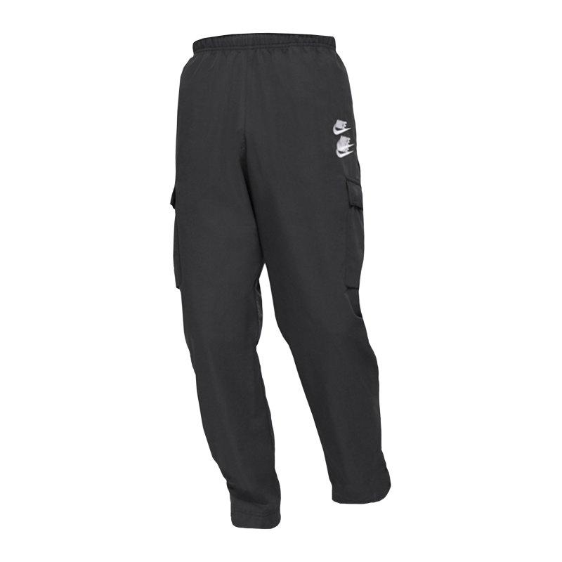 Nike Woven Cargo Jogginghose Schwarz F010 - schwarz
