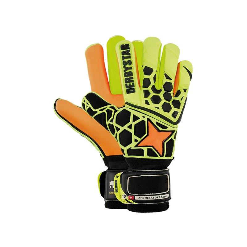 Derbystar APS Hexasoft Pro 1 TW-Handschuh F000 - gelb