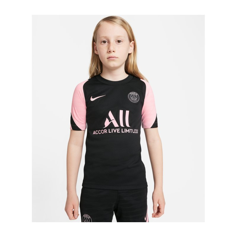 Nike Paris St. Germain Trainingsshirt Kids F011 - schwarz