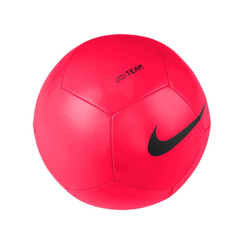 Nike Pitch Team Trainingsball Rot Schwarz F635 - rot