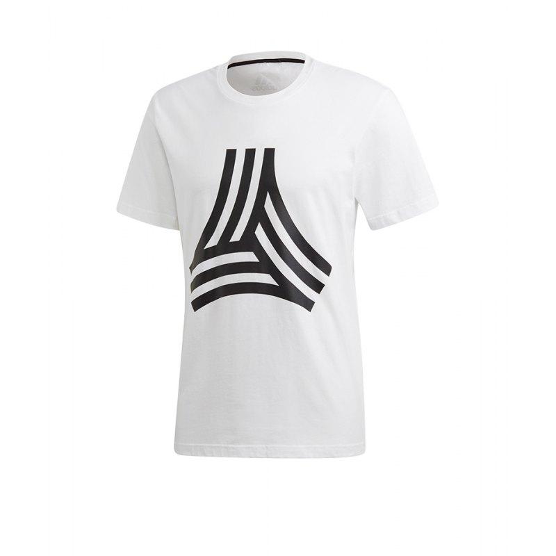adidas Tango Graphic T-Shirt Weiss - weiss