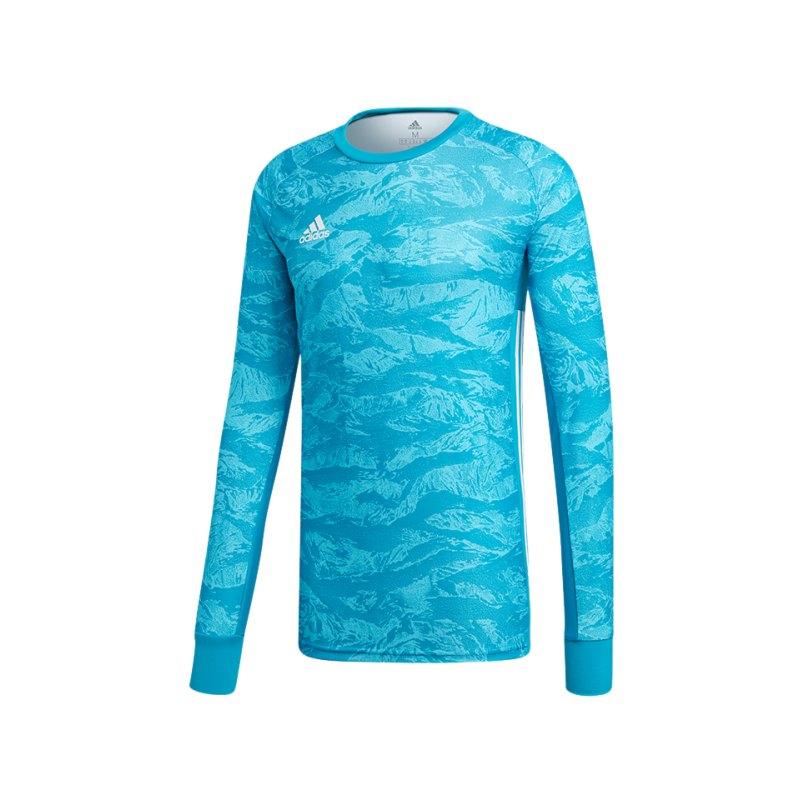 adidas AdiPro 19 Torwarttrikot langarm Blau - blau