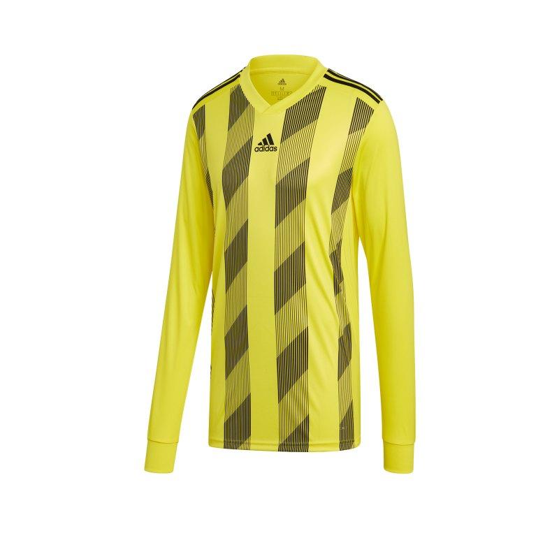 adidas Striped 19 Trikot langarm Gelb Schwarz - gelb