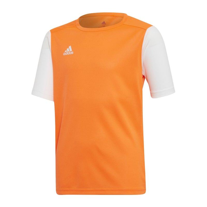 adidas Estro 19 Trikot kurzarm Orange Weiss - orange