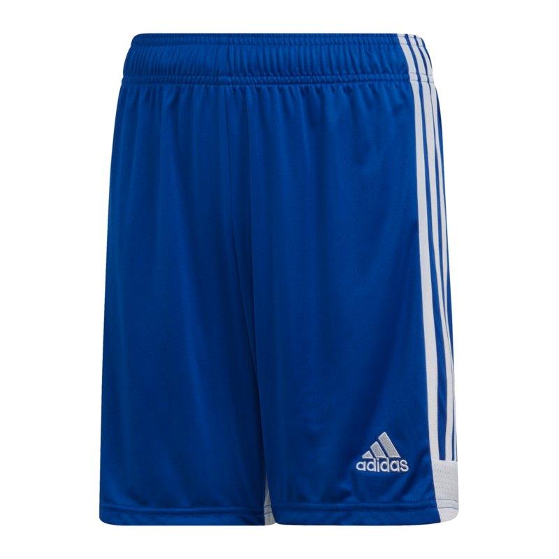adidas Tastigo 19 Short Kids Blau Weiss - blau