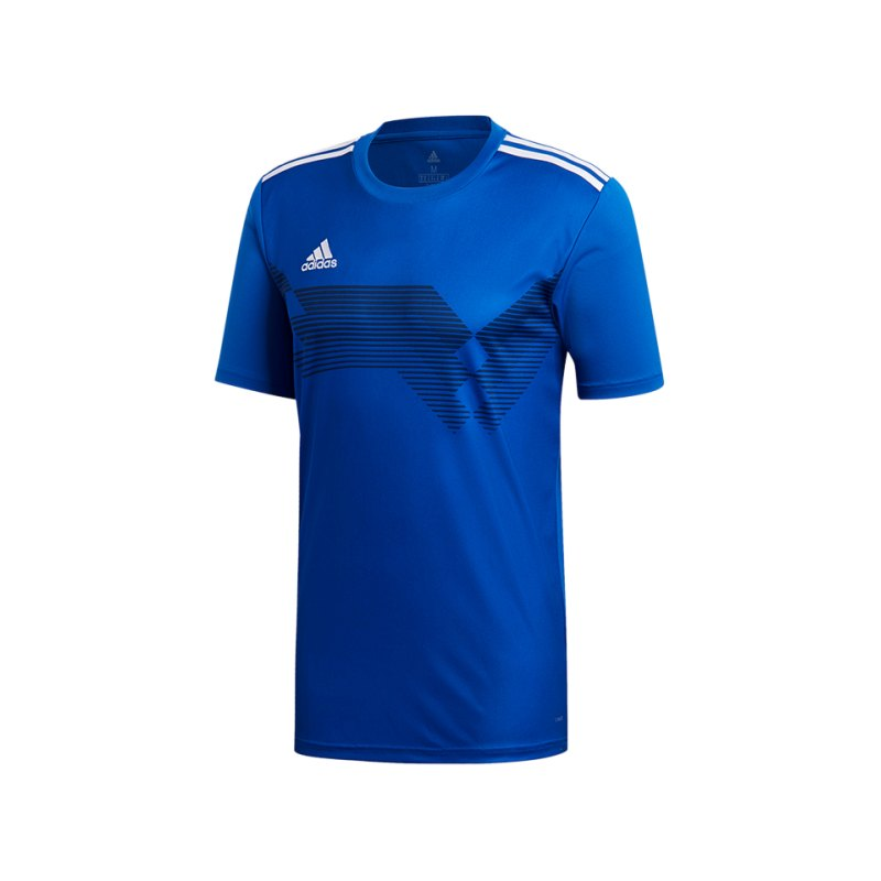 adidas Campeon 19 Trikot Blau Weiss - blau