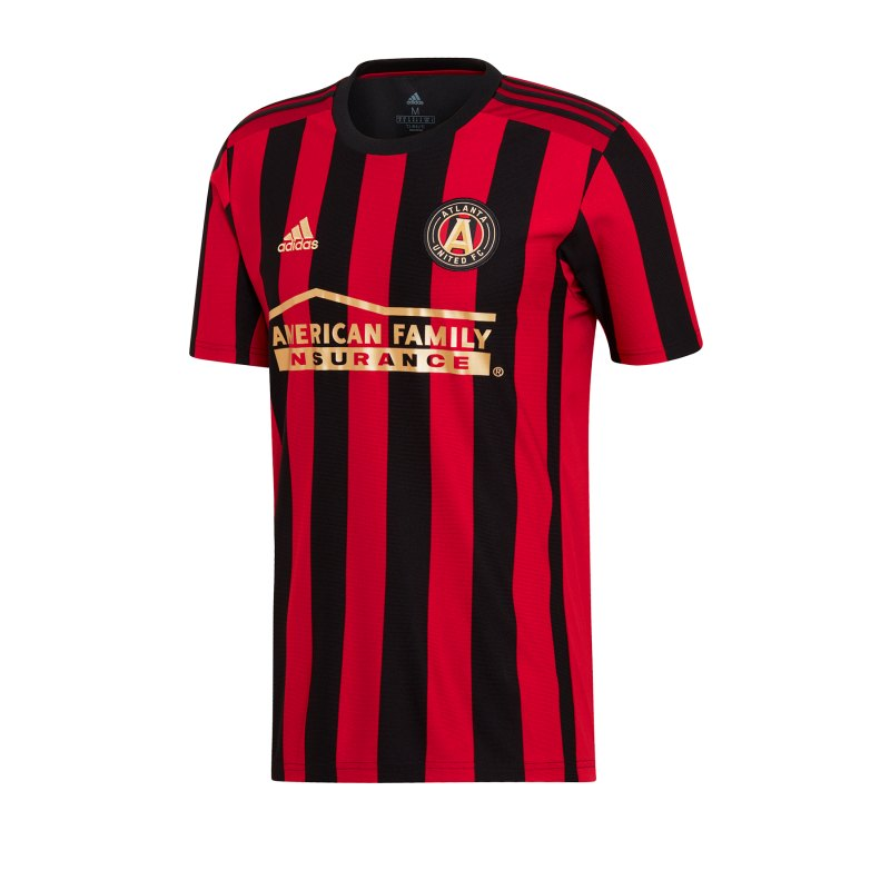 adidas Atlanta United Trikot Home 19/20 Schwarz - schwarz