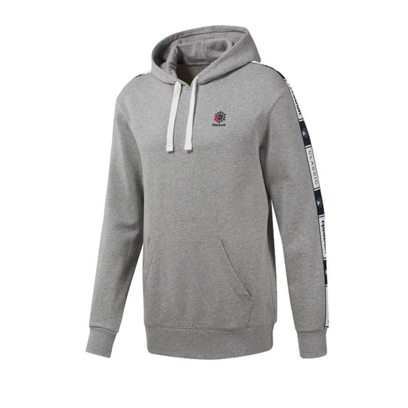 Reebok Classics Taped Kapuzensweatshirt Grau - grau