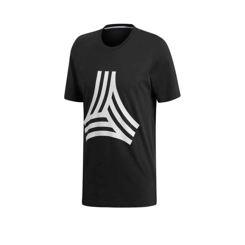adidas Tango Graphic T-Shirt Schwarz - schwarz