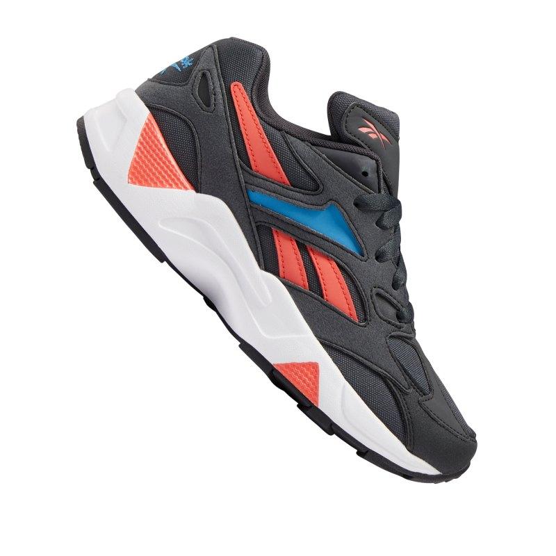 Reebok Aztrek 96 Sneaker Damen Grau Blau - grau