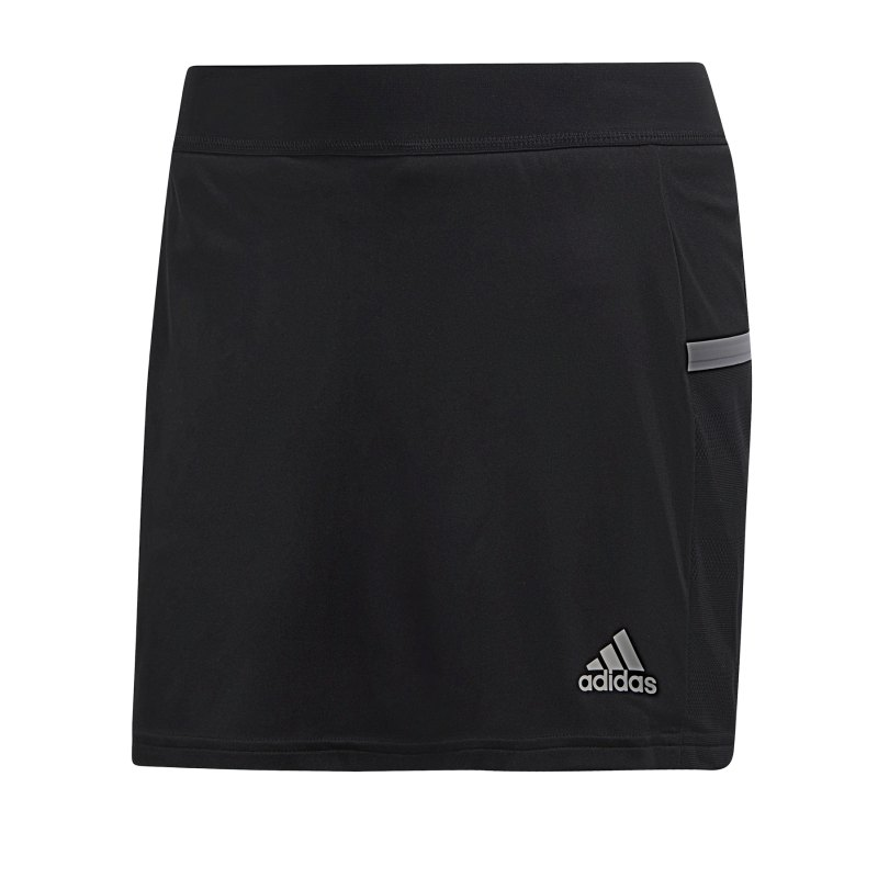 adidas Team 19 Skirt Rock Damen Schwarz Weiss - schwarz