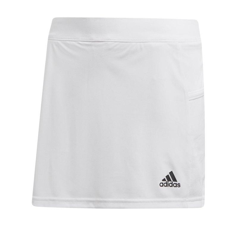 adidas Team 19 Skirt Rock Damen Weiss - weiss