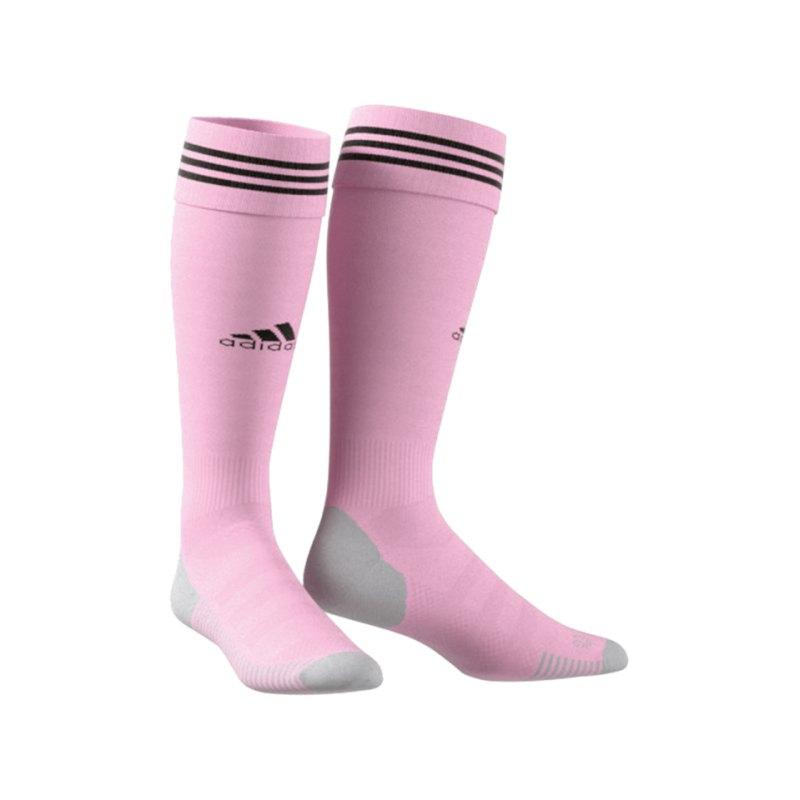 adidas Adisock 18 Stutzenstrumpf Pink Schwarz - pink