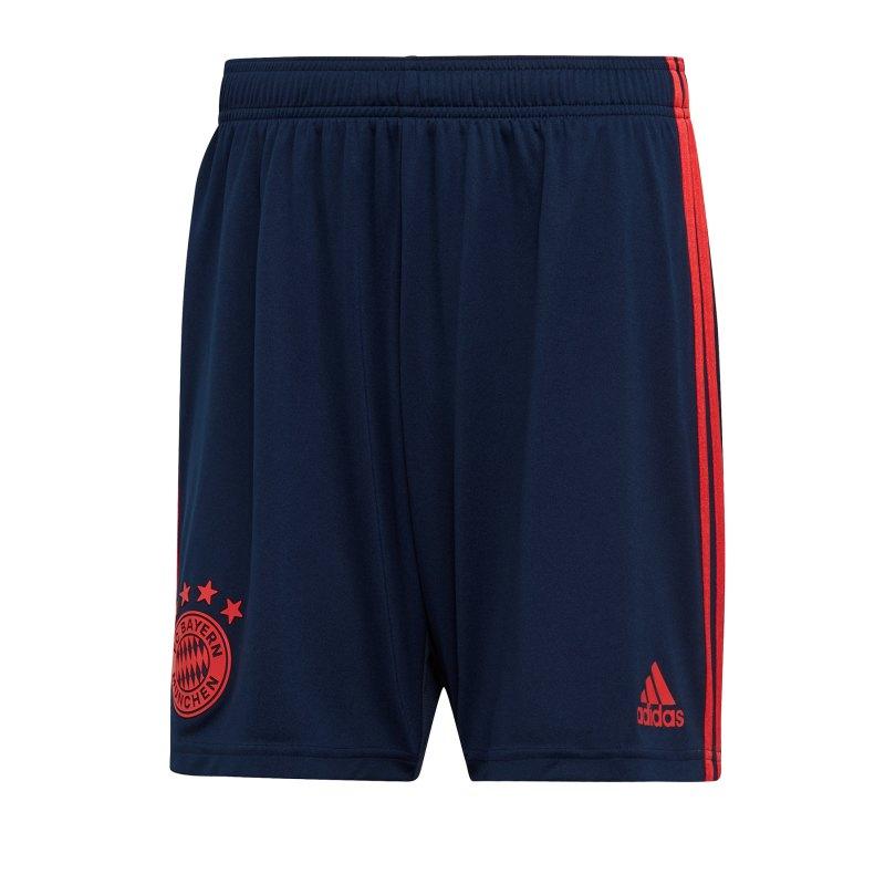 adidas FC Bayern München Short UCL 2019/2020 Blau - blau