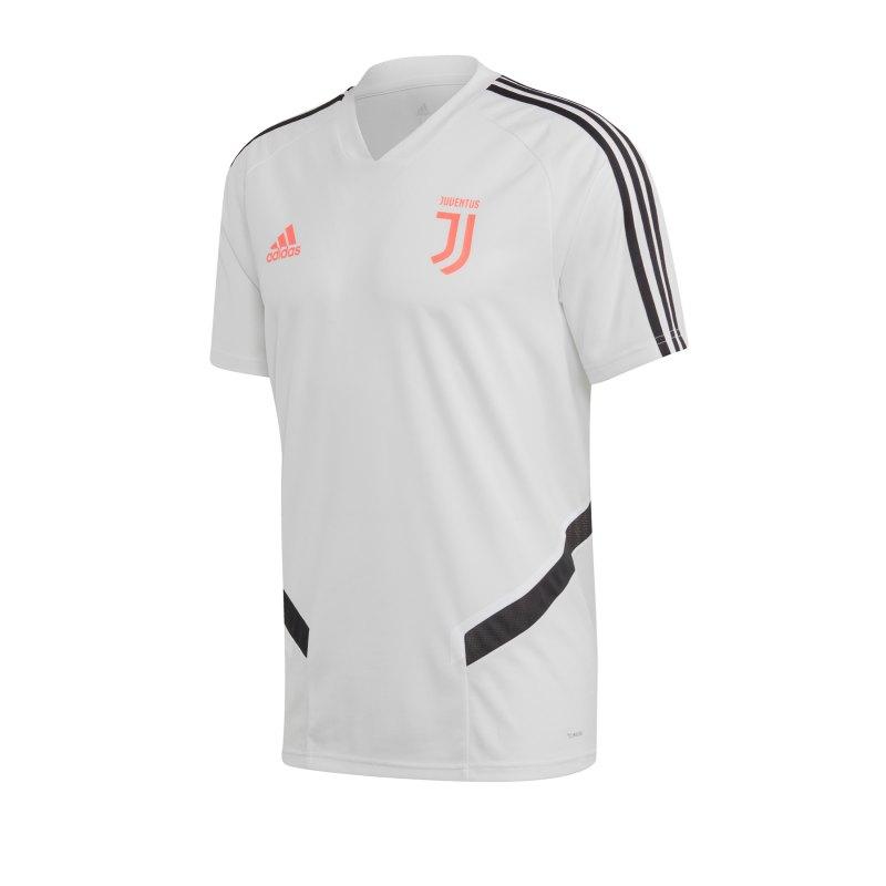 adidas Juventus Turin Trainingstrikot Weiss - Weiss