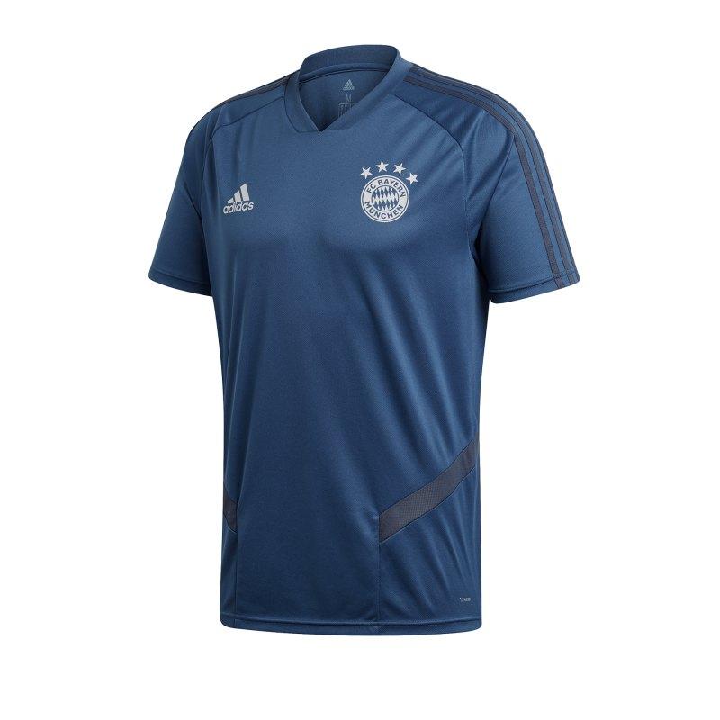 adidas FC Bayern München Trainingstrikot Blau - Blau