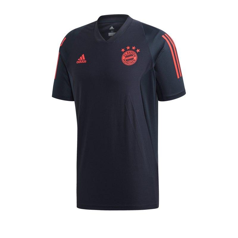 adidas FC Bayern München EU Trainingsshirt Blau - blau