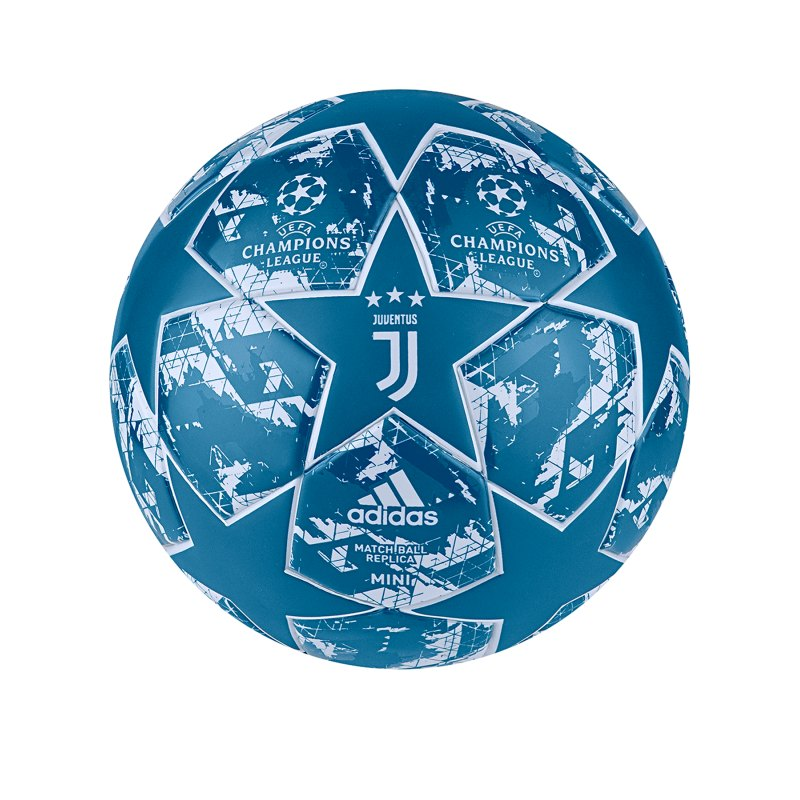 adidas Juventus Turin Finale Miniball Blau - Blau