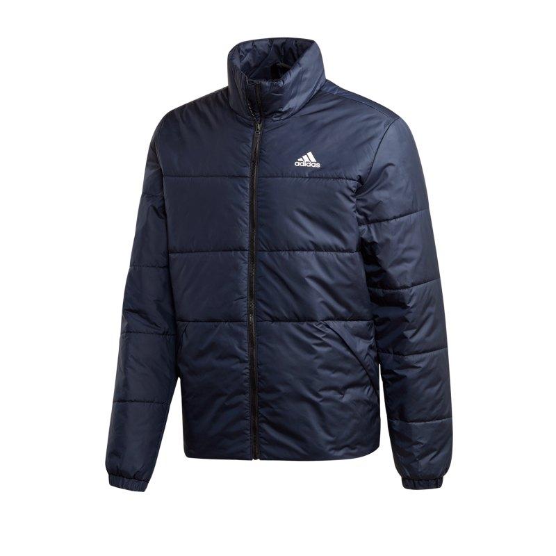 adidas Terrex BSC 3 Stripes Jacke Blau - blau