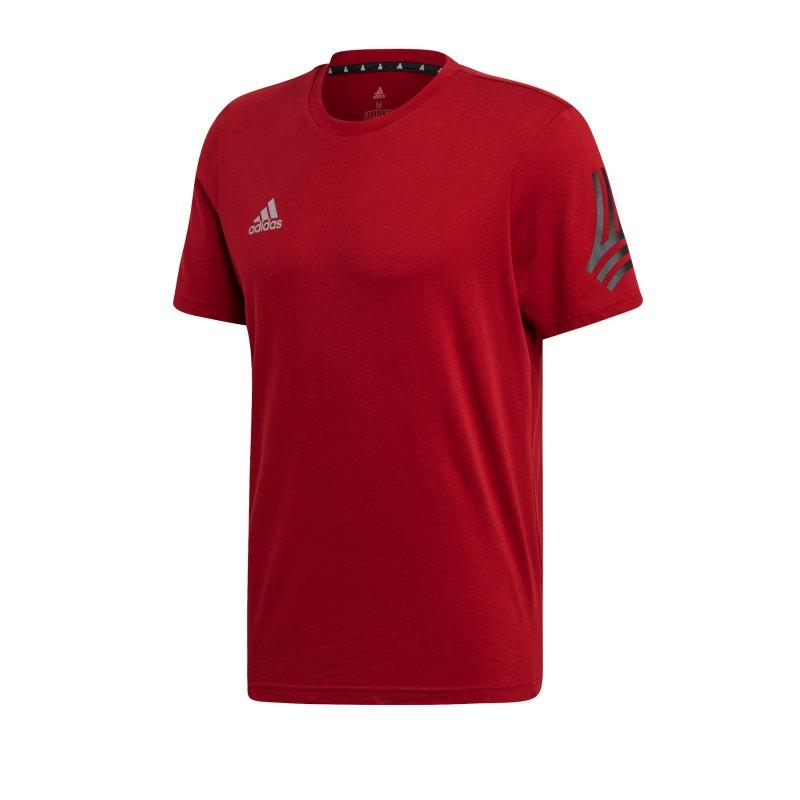 adidas Tango Tee T-Shirt Rot - rot