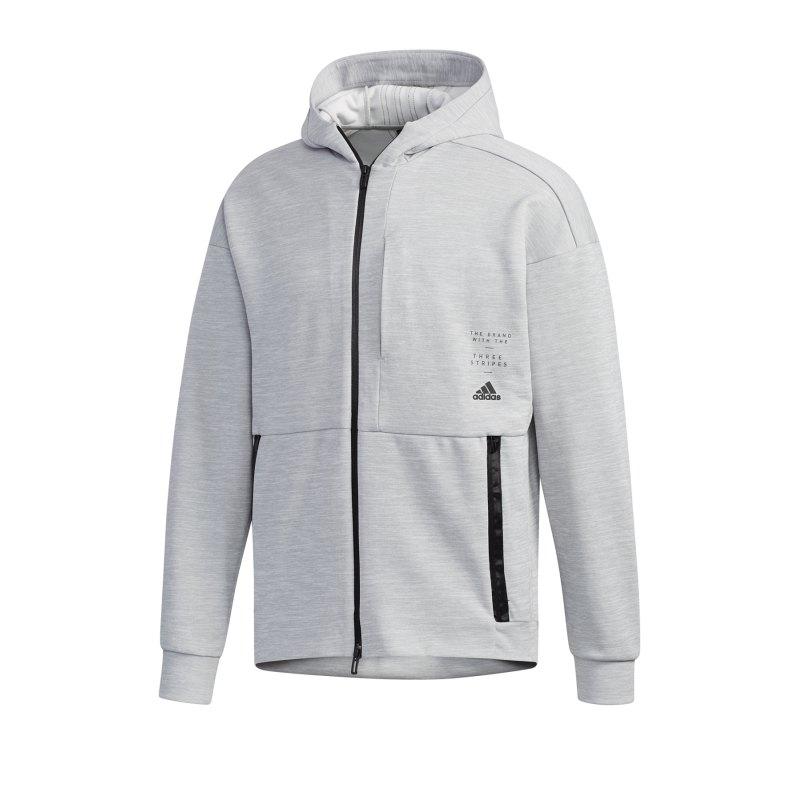 adidas ID Kapuzenjacke Grau - Grau