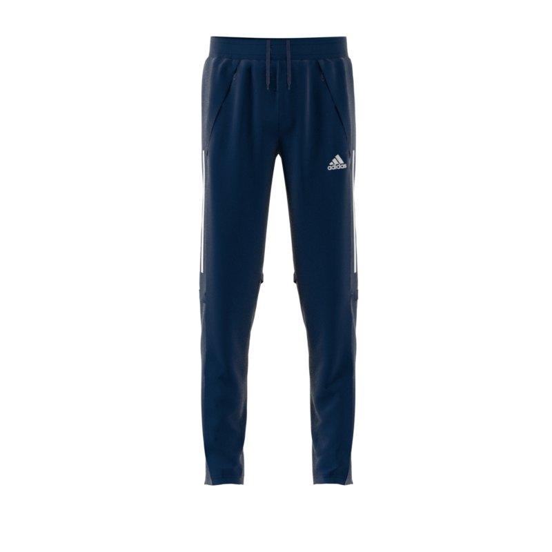 adidas Condivo 20 Trainingshose Kids Blau Weiss - blau