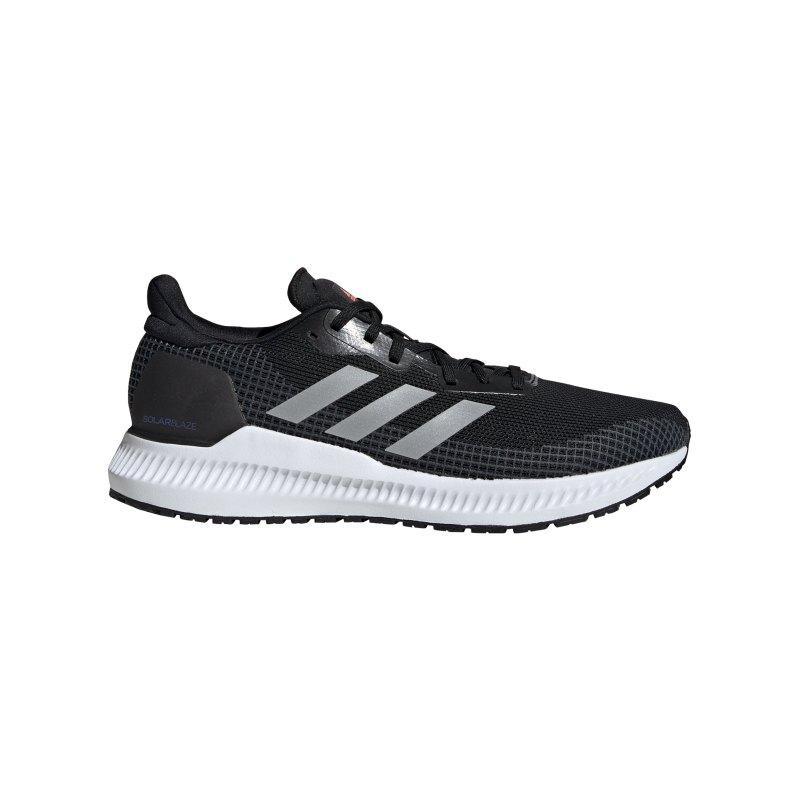 adidas Solar Blaze M Running Schwarz - schwarz