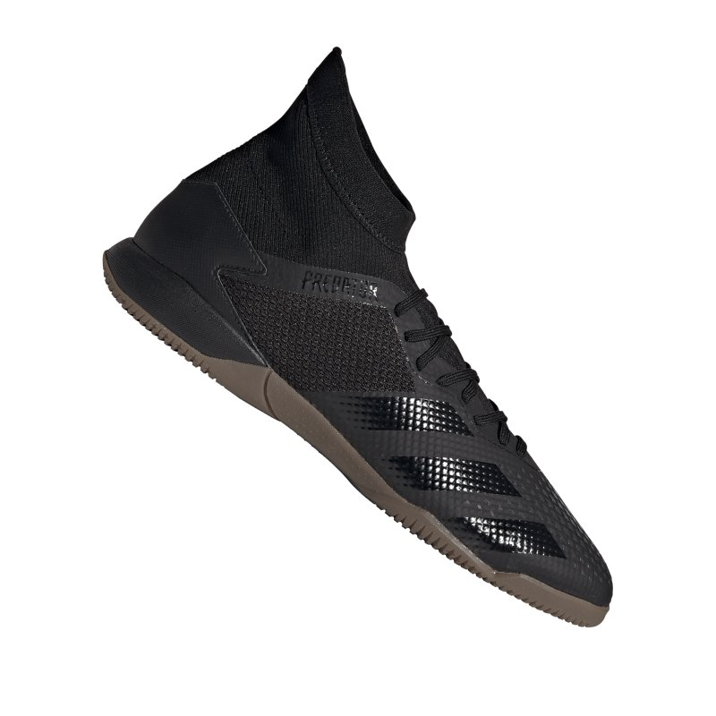 adidas Predator 20.3 IN Halle Schwarz Grau - schwarz