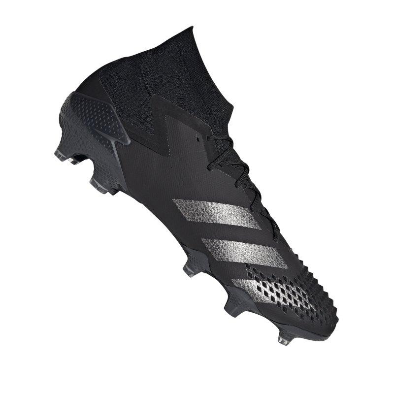 adidas Predator Shadowbeast 20.1 FG Schwarz Silber - schwarz